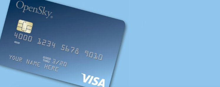 fully secured credit card from Open Sky